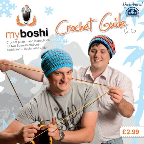 Crochet Guide Volume 1.0 - Patterns For DMC Myboshi Beanie Hats